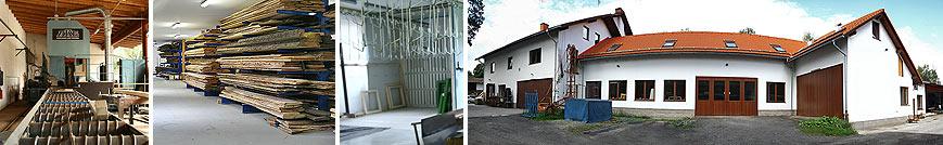 Truhlářství Hadrava - výrobní prostory